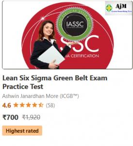 Lean Six Sigma Green belt practice test