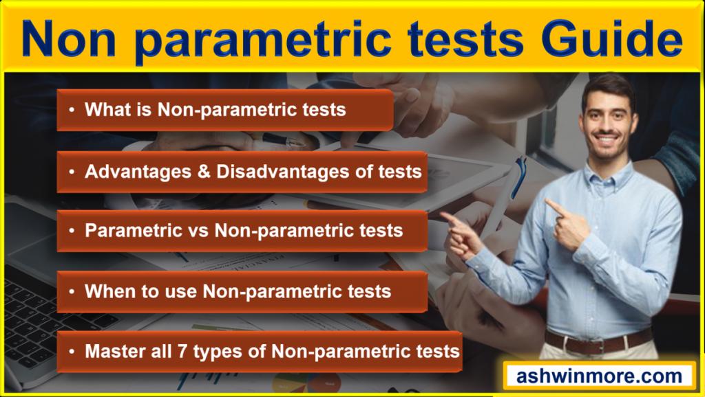 non parametric tests